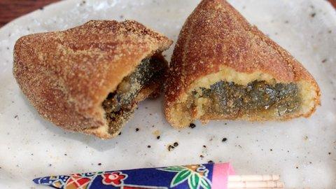 凍み餅の斬新とろ〜りレシピ。ホットケーキミックスを使った食べ方