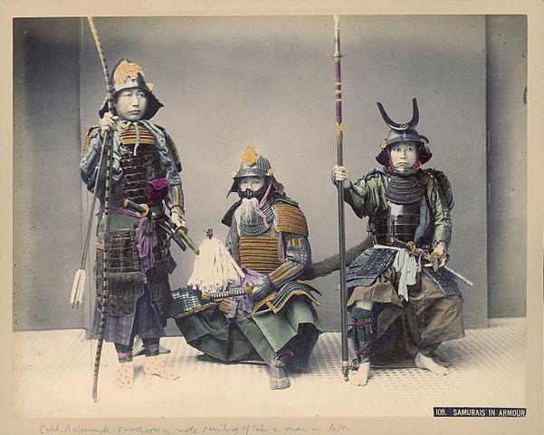 601px-Kusakabe_Kimbei_-_109._Samurais_In_Armour