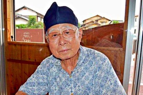 80歳すぎたから恩返し。鳥取のオジイが手作り開業した回転焼き屋