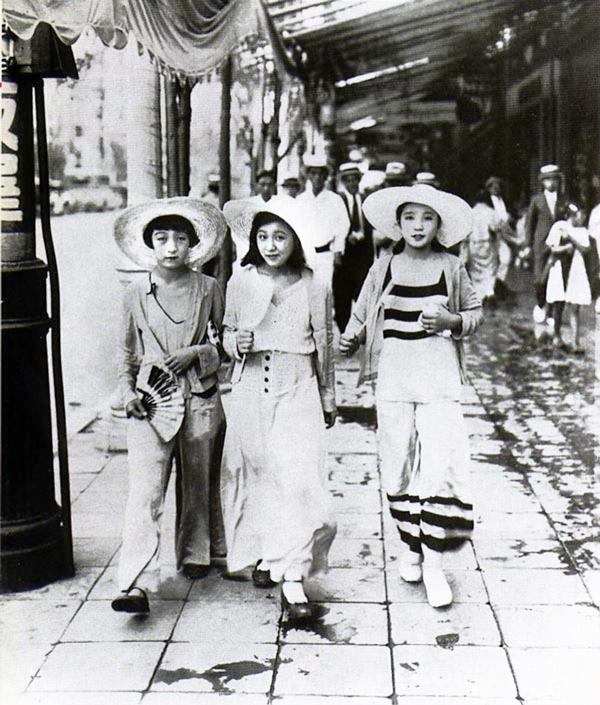 海外がビビった。戦前の日本人女性のファッションがモダンすぎる