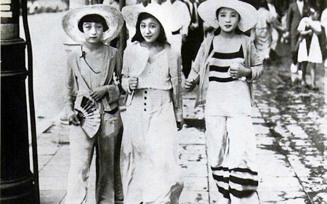 海外がビビった。戦前の日本人女...