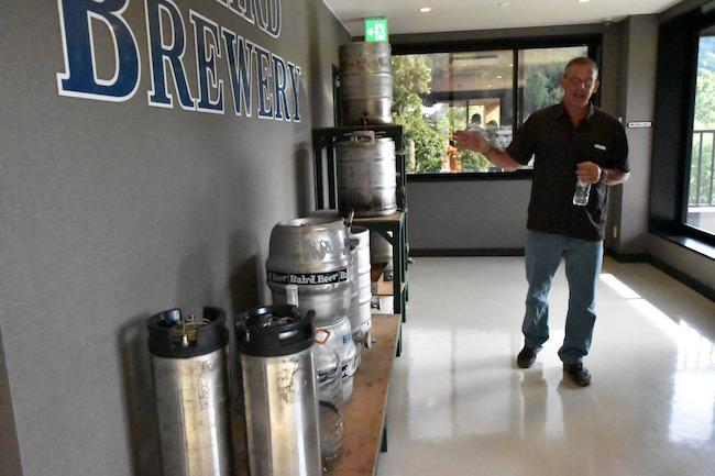 最初の沼津では、このタンクたちでクラフトビールを製造していた