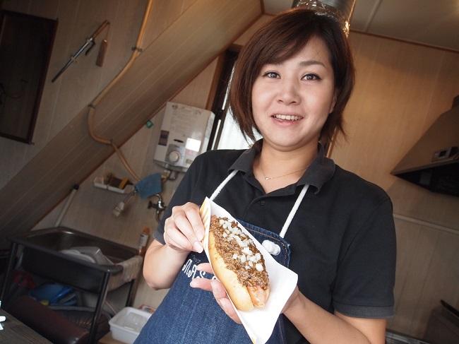 ▲調理と接客は基本、妻の翔子さんが担当