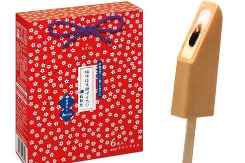 山梨の人気郷土菓子がアイスに。「桔梗信玄餅アイスバー」が期間限定で発売へ