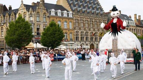 3年に1度、ベルギーで大人気の「猫まつり」が今年5月に開催