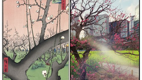 歌川広重に魅了されたイタリア人が撮った「今の東京百景」