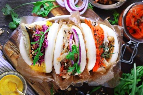 ふんわり+こんがり=新食感!台湾発ティースタンドの新作パオが超ぱんぱん