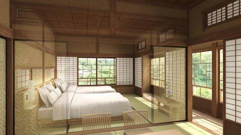 安政2年から受け継がれる鎌倉の古民家が、180日だけ豪華ホテルに変身