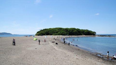 千葉にある不思議の島。歩いて渡れる無人島「沖ノ島」でプチ探検気分