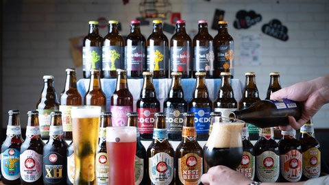 ラガーとエール、どっちが好き? 有楽町でクラフトビール60種飲み比べ