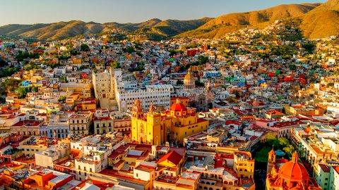 一度は見てみたい。メキシコのカラフルな町「グアナファト」の絶景