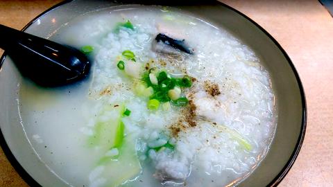 子連れ海外旅行で困るご飯問題、台湾では激旨お粥「サバヒー粥」がいい