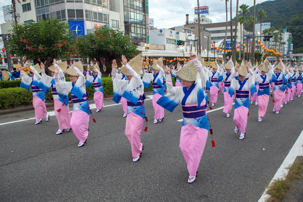 「阿波踊り」が有名なのは?