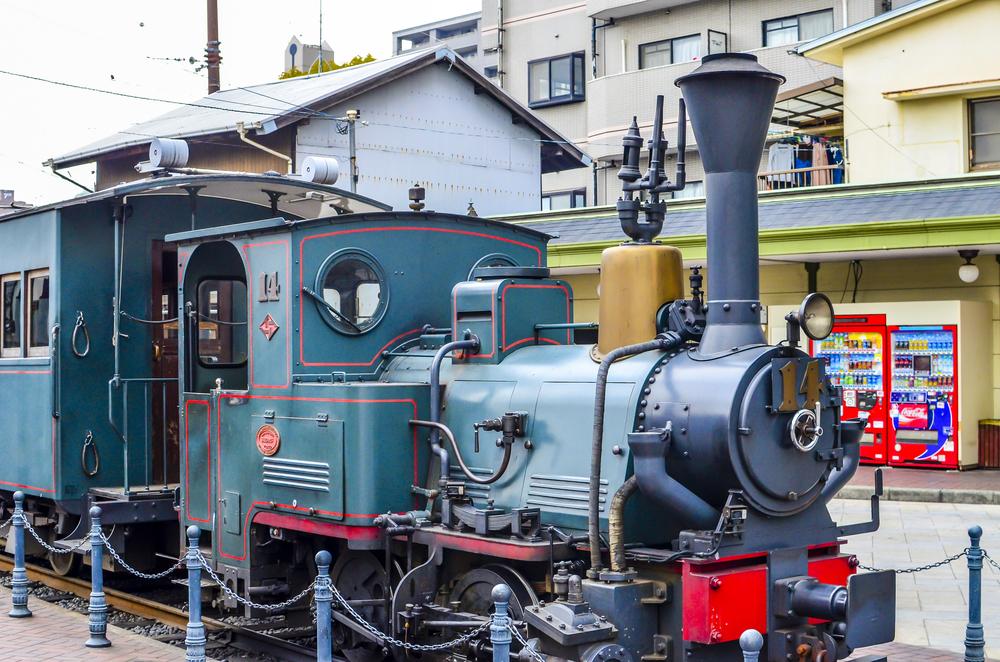 「坊っちゃん列車」があるのは?