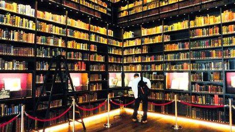 日本一美しい「本棚」と言われる、文京区「東洋文庫ミュージアム」