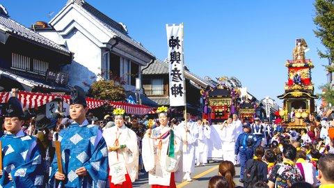 お神輿わっしょい。伝統もグルメも楽しめる東京近郊の「秋祭り」