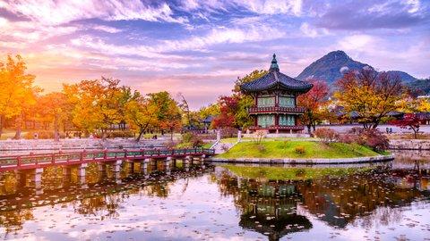 韓国も負けてない。日本と韓国が誇る、美しい紅葉スポット対決