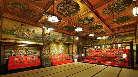 関東初公開の文化財も。ホテル雅叙園東京「百段雛まつり」開催