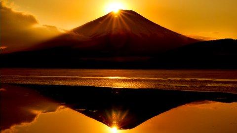 これぞ、神秘の絶景。「ダイヤモンド富士」を見るための季節とポイント