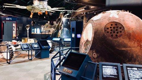 宇宙人が現れるまち?本物の宇宙船がある石川県「コスモアイル羽咋」