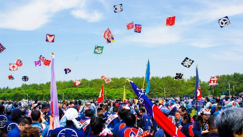 2019年は5/3から。ド迫力の凧揚げが必見の「浜松まつり」