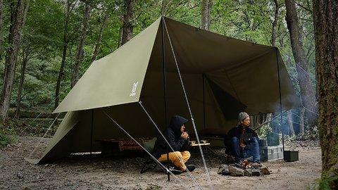 たった一枚の「ヌノイチ」で、キャンプの可能性はもっと広がる