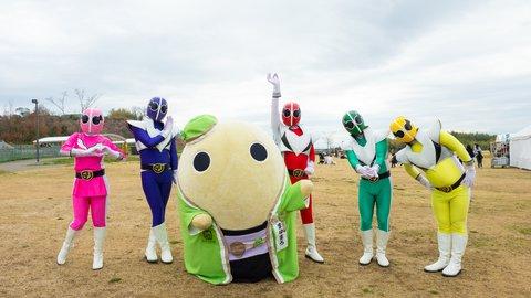 特撮ブーム再来!京都・城陽市のご当地ヒーロー「ゴリゴリ戦隊五里ンジャー」