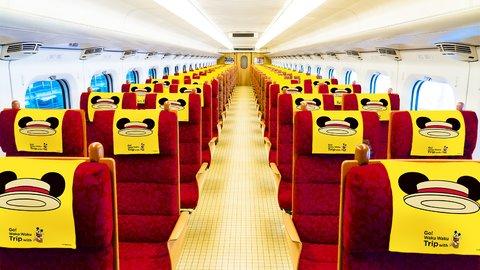 さぁ、ミッキーと旅に出よう。JR九州新幹線のキュートなコラボが爆誕