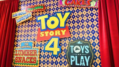 映画の世界観が楽しめる。『トイ・ストーリー4』OH MY CAFEがオープン