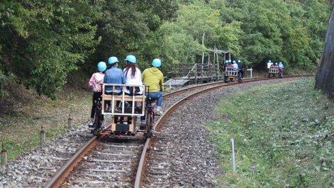 廃線を自転車で走る。紅葉の時期に楽しみたい岐阜県「ガッタンゴー」