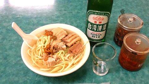 台湾の隠れグルメ?ガチョウ肉たっぷりの「鵝肉麺」が安くて旨い