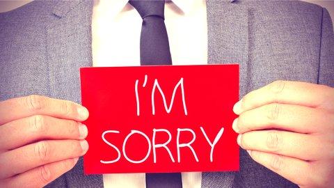 押さえておきたい「謝罪表現」。仕事でも使える英会話フレーズvol.23