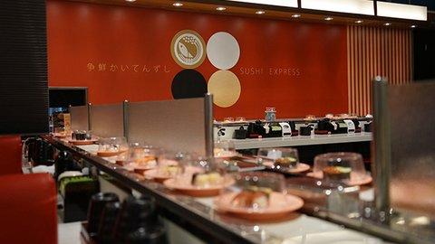 台湾の回転寿司に驚愕。日本と違う、いなり寿司の中に入ってた物