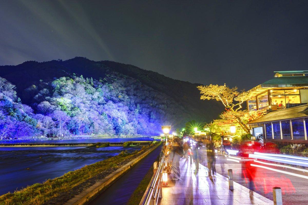 灯が映し出す夜の顔。京都・嵐山花灯路の「和イルミネーション」 - TRiP EDiTOR