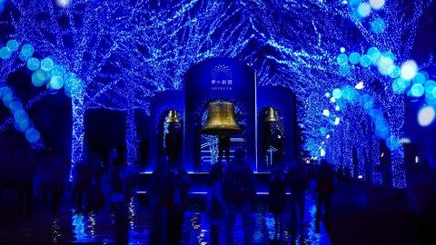 ブルーの世界に飛び込んで。人気イルミ「青の洞窟 SHIBUYA」へ