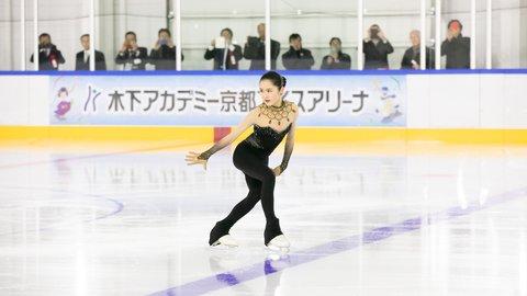 人気選手が滑り初め!「木下アカデミー京都アイスアリーナ」がオープン
