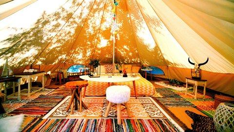 手ぶらで行ける贅沢キャンプ。日本の有名グランピングスポット5選