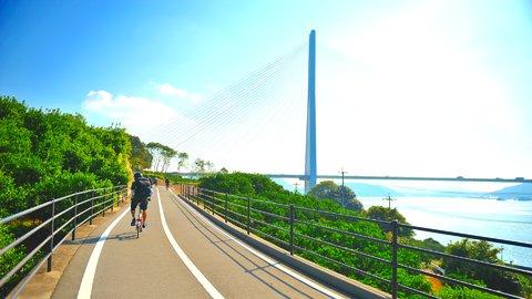 絶景に癒されながら。爽快に走り抜けたい日本全国「サイクリングスポット」25選