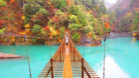 ドライブ旅にも最適。恋が実る静岡県の「寸又峡」で秋景色をめぐる