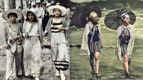 モダンガールからギャルまで。日本人女性のファッション変遷が面白い