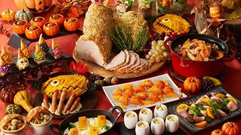 4000円台で秋を満喫。激カワ&絶品の都内ハロウィン「ホテルブッフェ」