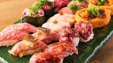 豪華食べ放題が2,680円!コスパ最高の贅沢「肉寿司」食べ尽くしキャンペーン開催中