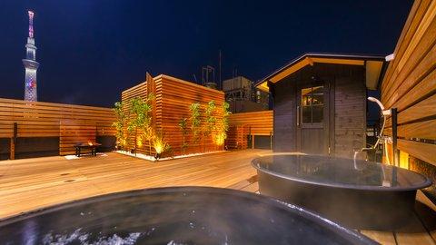 1日1組限定のプライベート空間。食事付きの超豪華な貸切サウナ「The錦糸町」