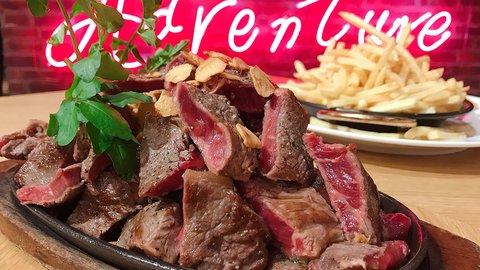 【食べ放題2980円】サーロインステーキ&フレンチフライが神コスパで!肉食大歓喜の限定イベント