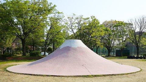 なぜ名古屋に多いのか?公園の「富士山すべり台」を調べまくったサラリーマン