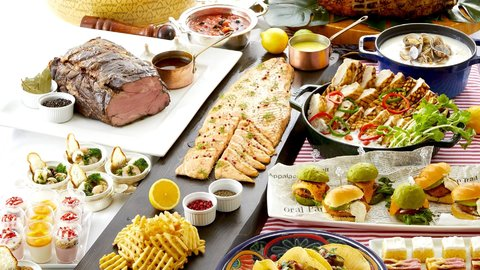 コスパ最高の豪華食べ放題!絶景も楽しめる贅沢な「オーダーブッフェ」