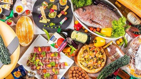 食べ放題3,900円!海を眺めながらリゾート気分を楽しめる期間限定「イタリアンブッフェ」