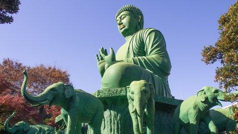 ホントに日本?地元民も知らない、緑色の大仏様が迎える愛知県「桃巌寺」