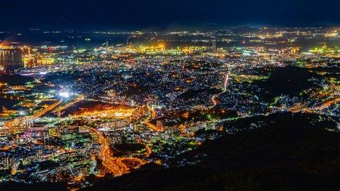 新日本三大夜景に認定された「皿倉山」の美しすぎる100億ドルの絶景
