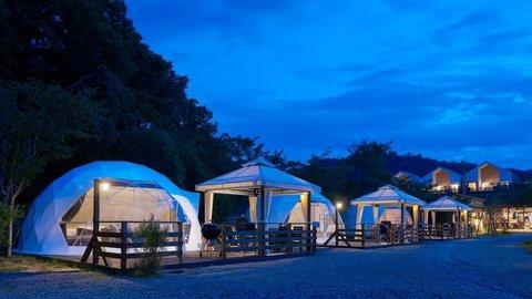 京都の大人気!自然の中にあるキャンプ場&グランピング施設9選